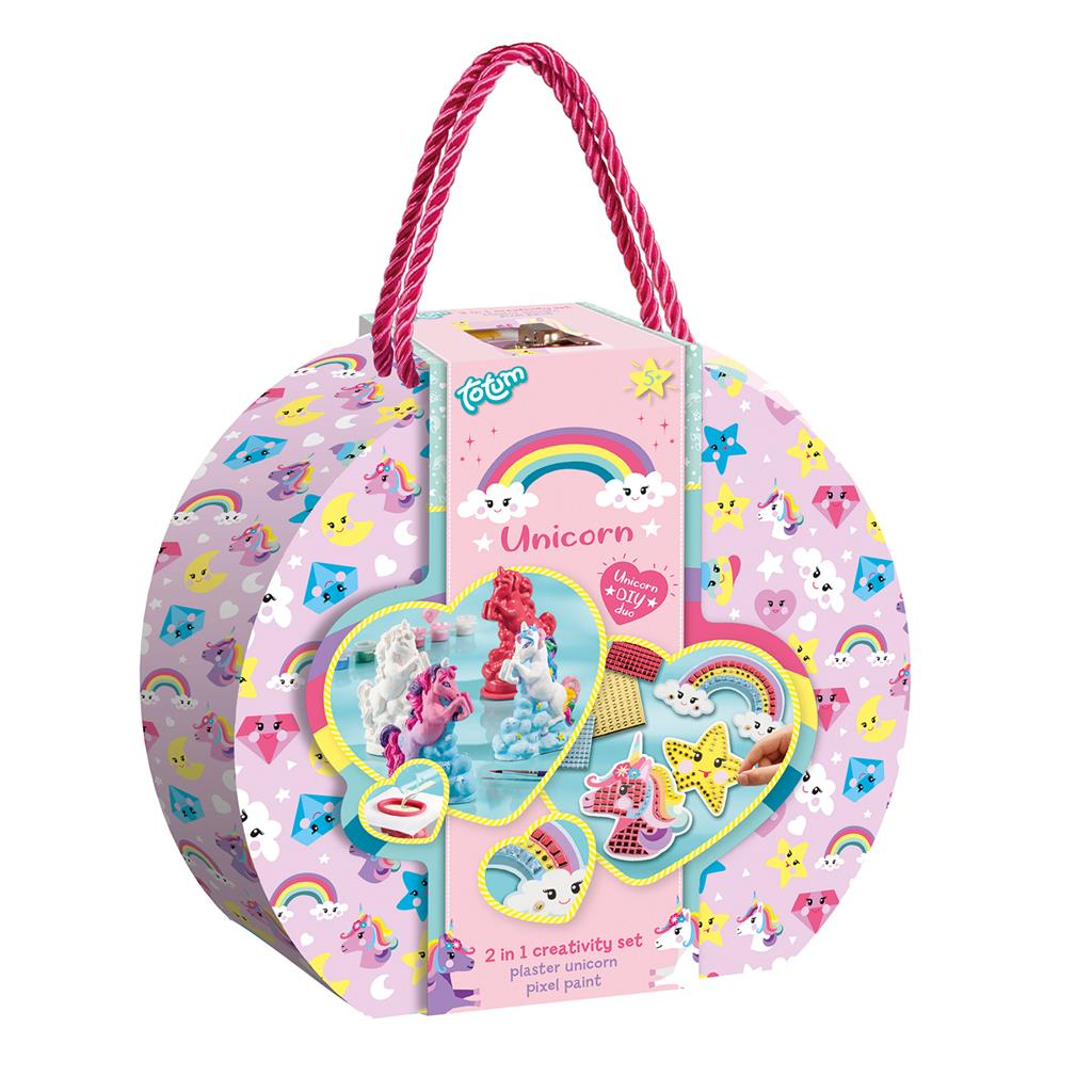 TOTUM UNICORN 2-IN-1 KOFFER