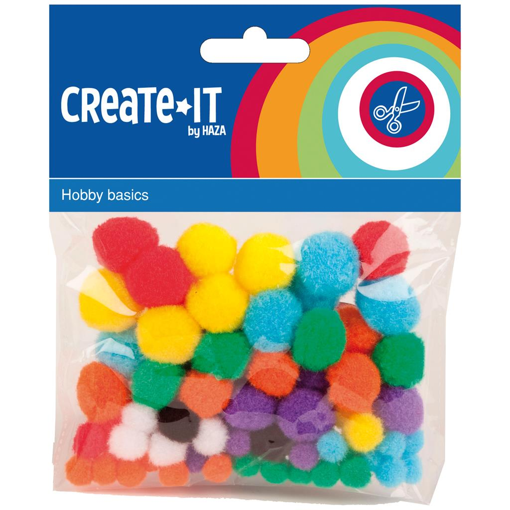 HOBBYSET CREATE-IT POMPOMS