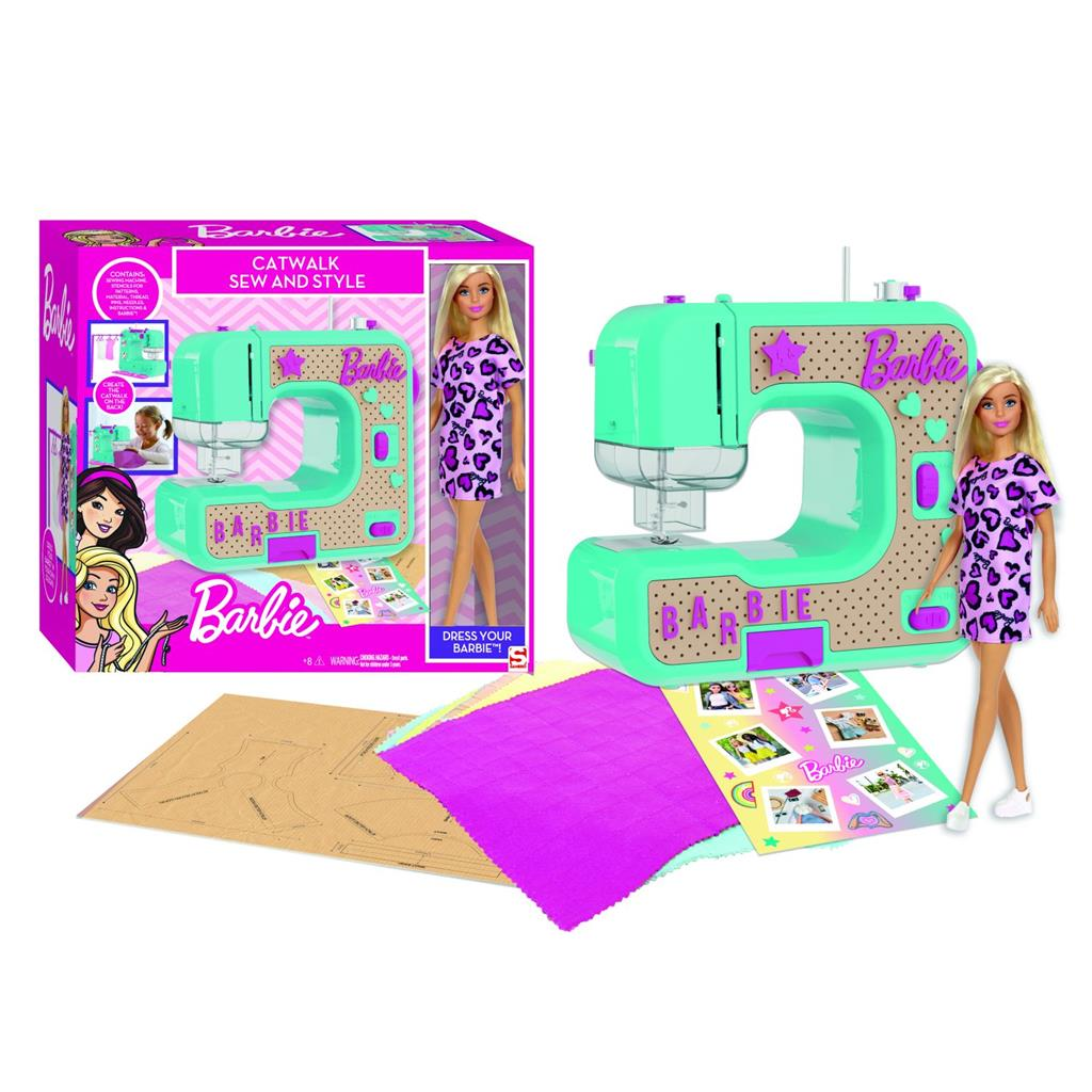 BARBIE NAAIMACHINE MET POP