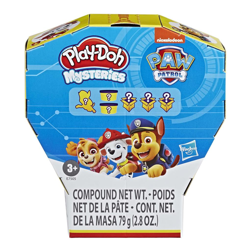 PLAY DOH PAW PATROL MYSTERIES ASSORTIMENT