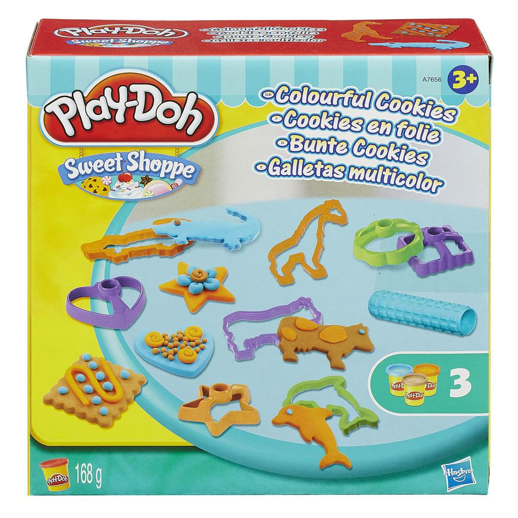 PLAYDOH COLOURFUL COOKIES