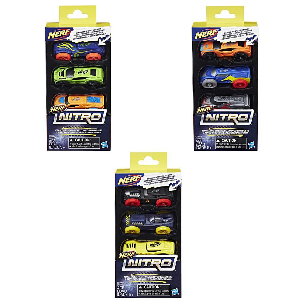 NITRO FOAM CAR 3 PACK