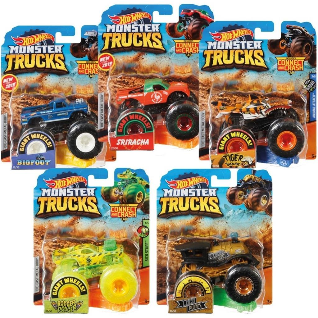 HOT WHEELS MONSTERTRUCK DIV.