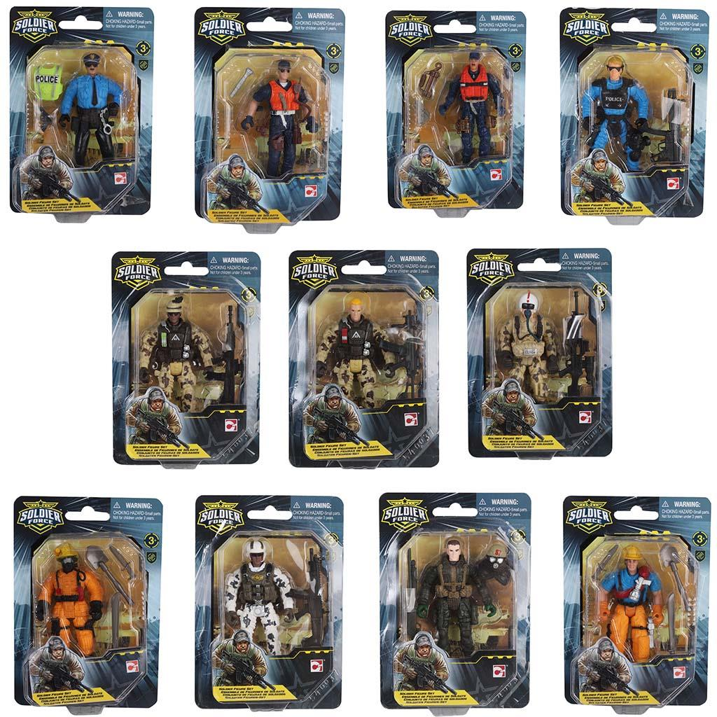 SOLDIER FORCE SOLDAAT FIGUREN ASSORTI