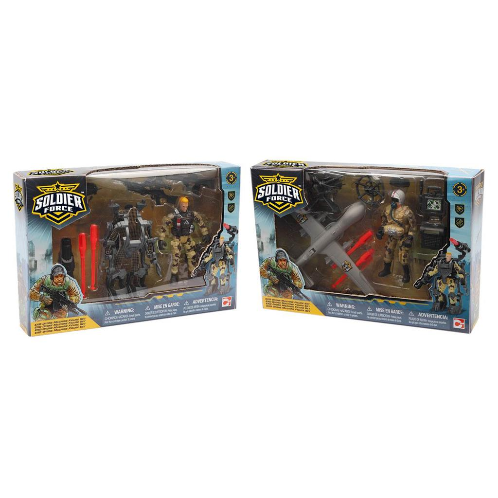 SOLDIER FORCE EXO-DRONE FIGUREN SET ASSORTI