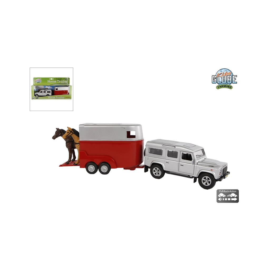 AUTO LANDROVER DC+PAARDENTRAIL