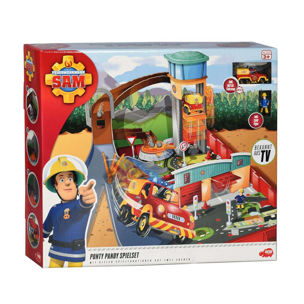 BRANDWEERMAN SAM PONTY PANDY PLAYSET