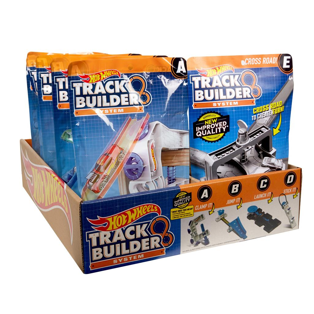 HOT WHEELS TRACK BUILDER ASS