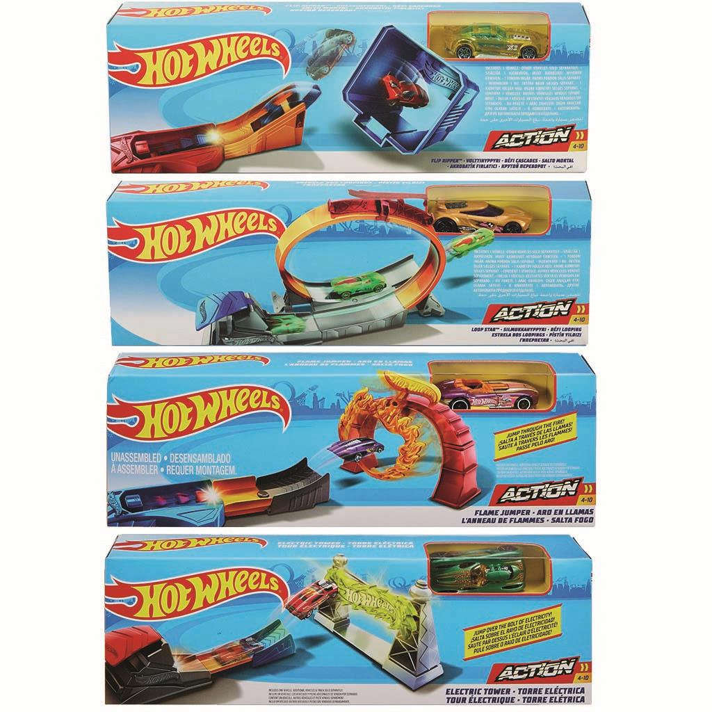 HOT WHEELS TRACK PACK INCL. AUTO