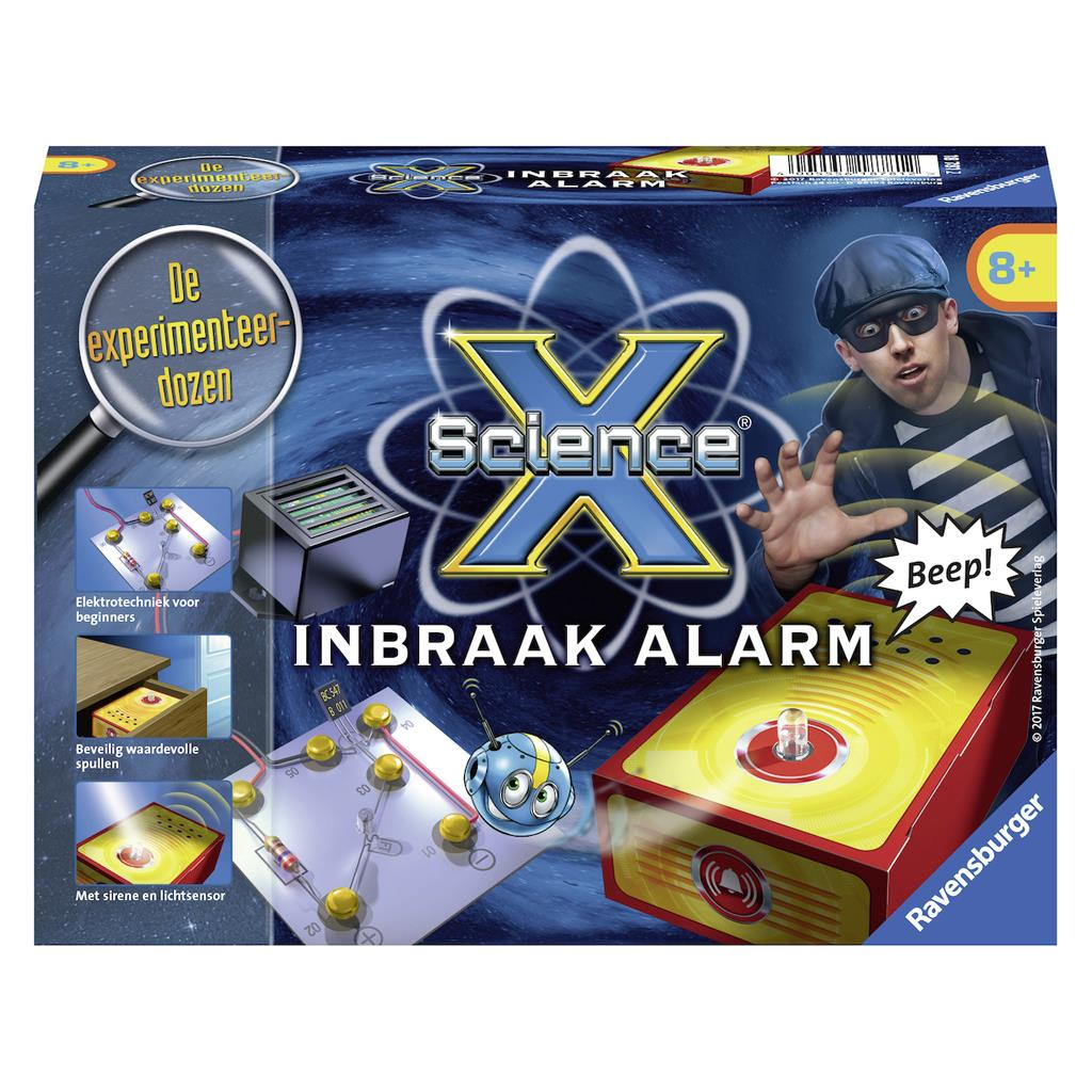 SCIENCE X INBRAAK ALARM