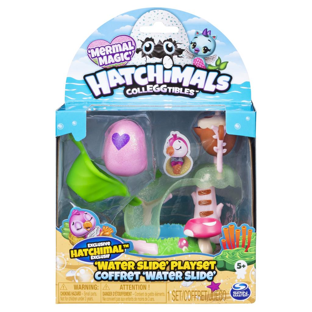 HATCHIMAL WATER SLIDE PLAYSET