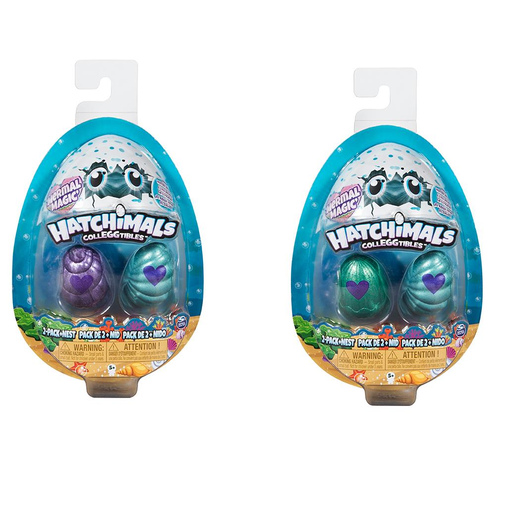 HATCHIMALS COLLEGGTIBLES 2 PACK  NEST SEASON 5