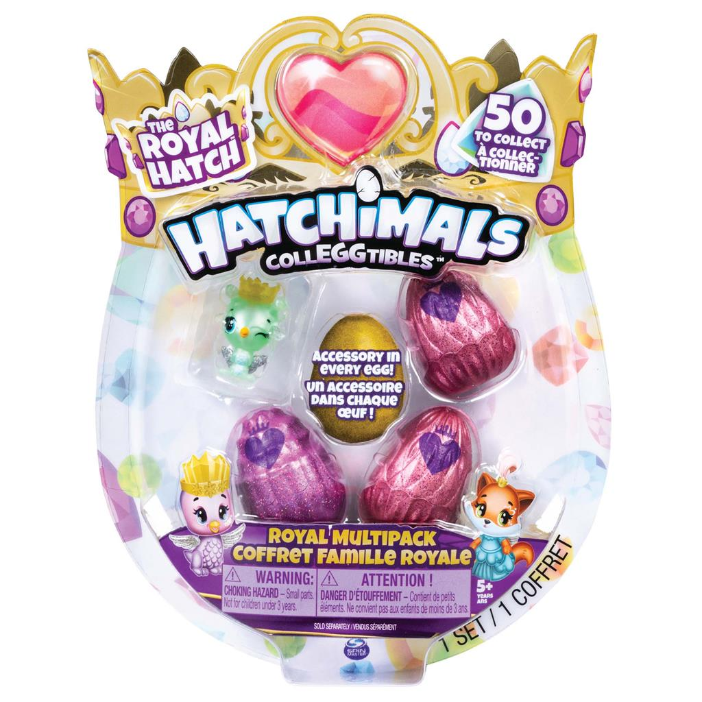 HATCHIMALS COLLEGGTIBLES 4 PACK IN DIVERSE SOORTEN LEBVERBAAR