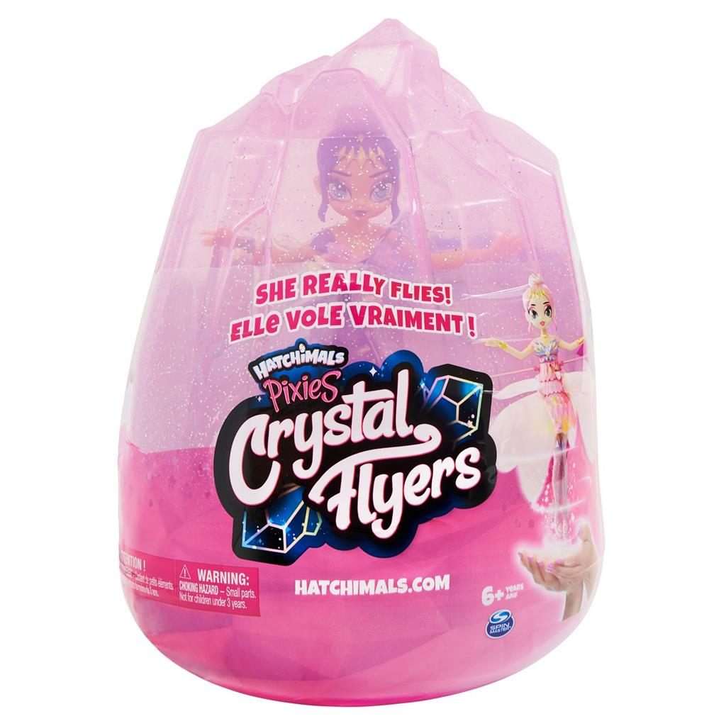 HATCHIMALS CRYSTAL FLYERS VIOLET