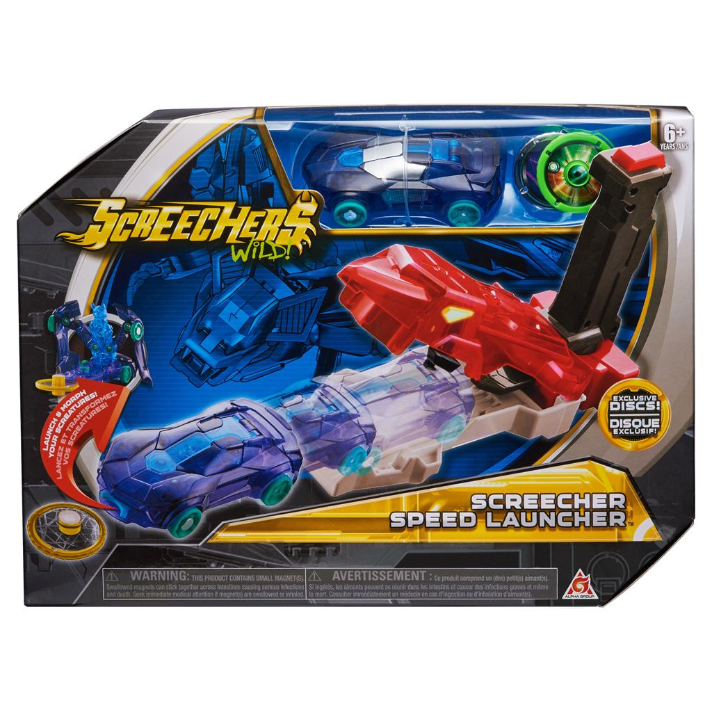 SCREECHERS WILD SPEED LAUNCHER