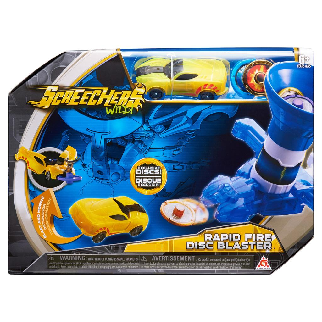 SCREECHERS WILD DISC BLASTER