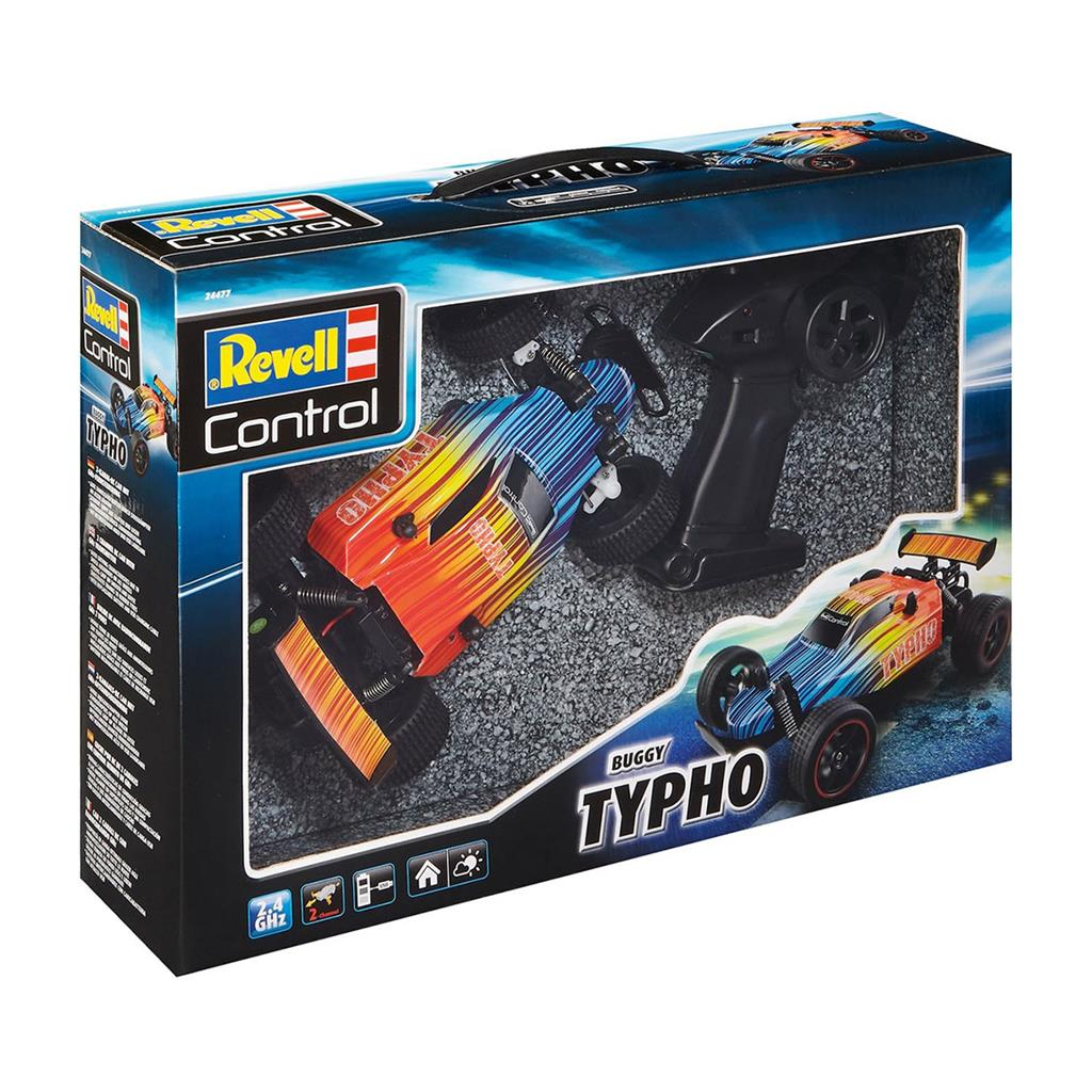 REVELL RC BUGGY TYPHO