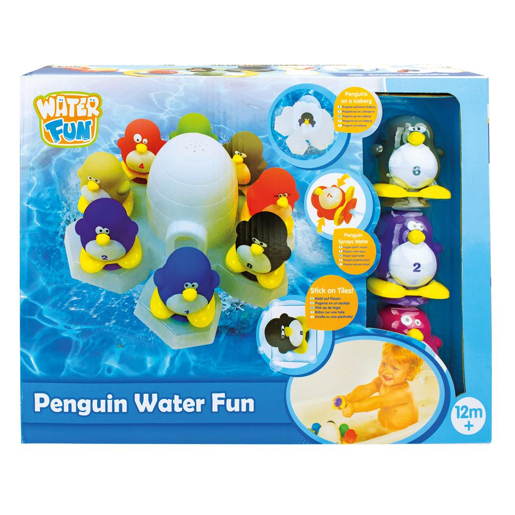 WATER FUN PENGUINS WATER FUN
