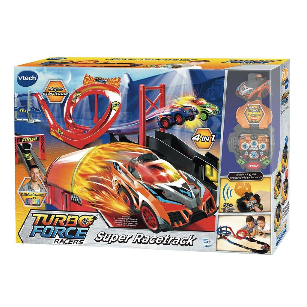 VTECH DIGIART TURBO FORCE SUPER RACETRACK SET
