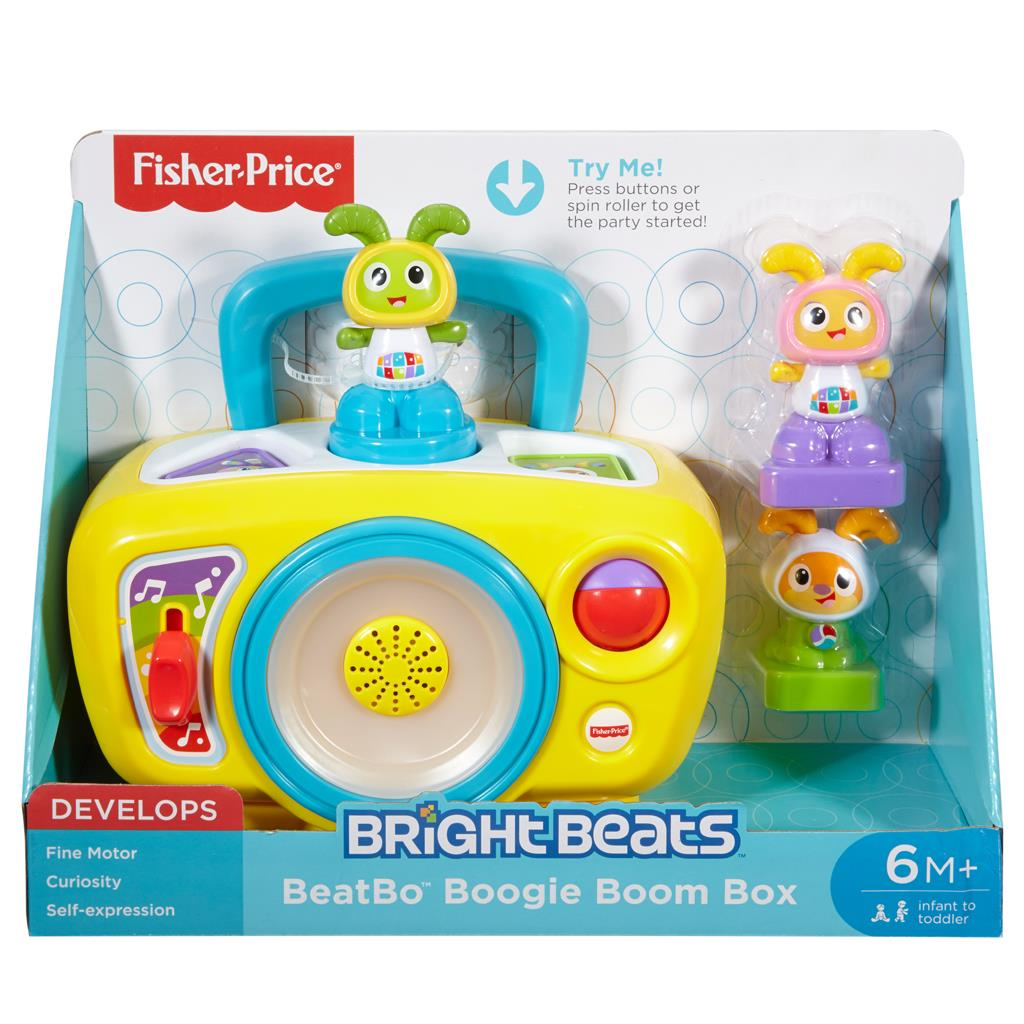 FISHER PRICE BRIGHT BEATS BOOMBOX (NL)