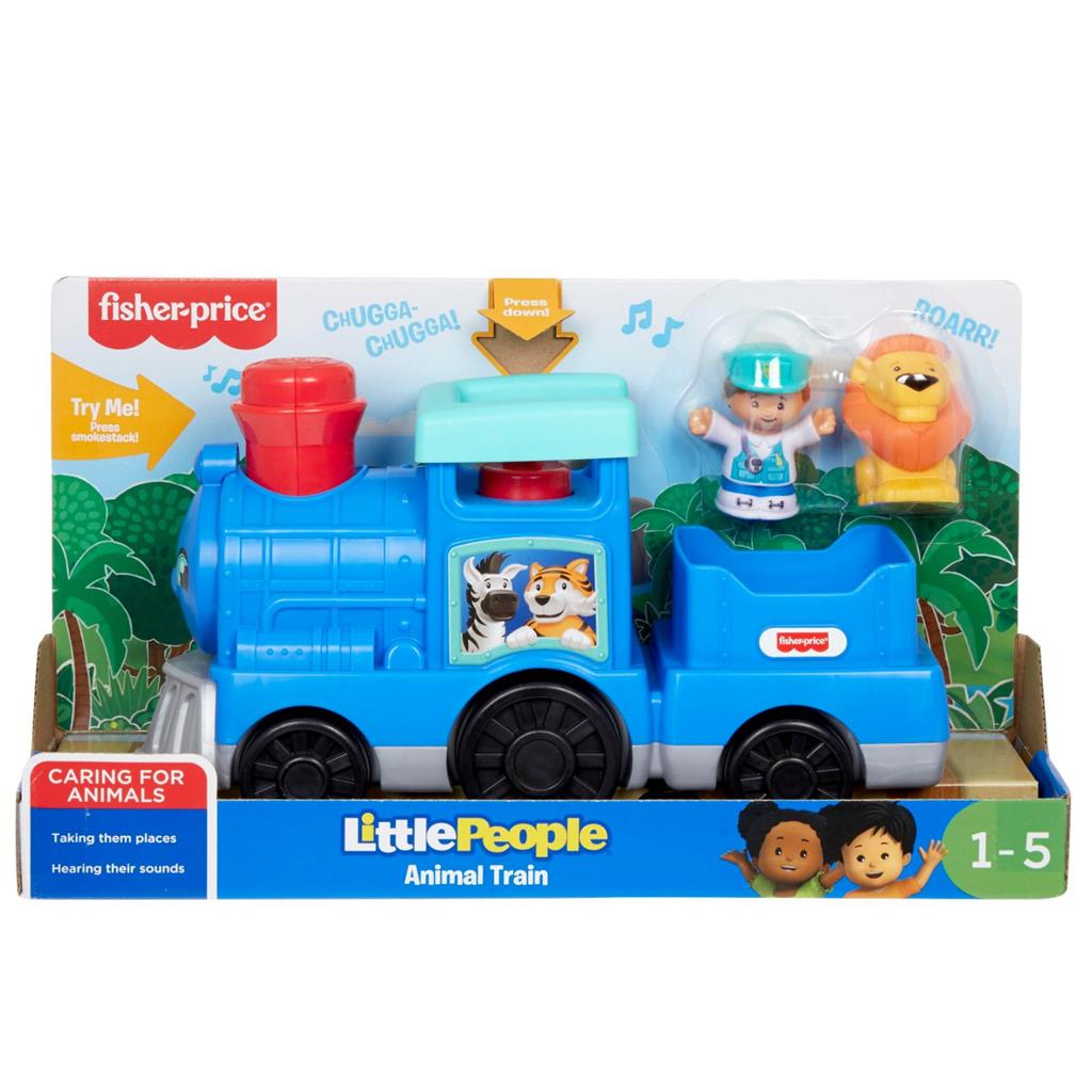 FISHER PRICE LITTLE PEOPLE CHOO CHOO DIERENTREIN