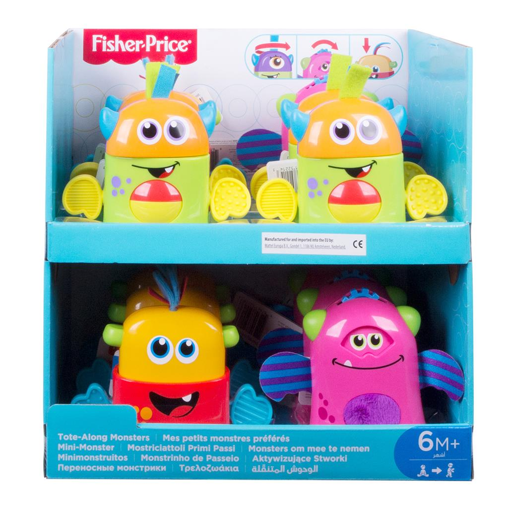 FISHER PRICE MINI MONSTER ASSORTIMENT