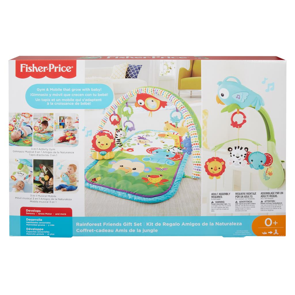 FISHER PRICE 3IN1 MUZIKALE ACT GYM+M MOB