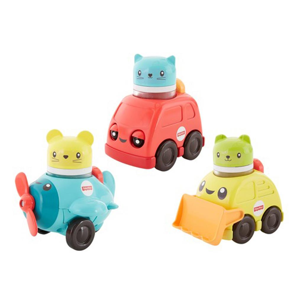 FISHER PRICE RATEL & ROL AUTO ASSORTIMENT