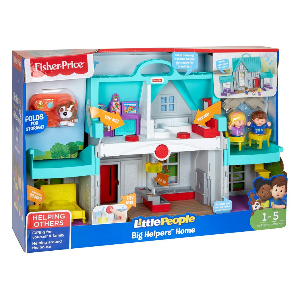 FISHER PRICE LP HANDIGE HELPERS HUIS