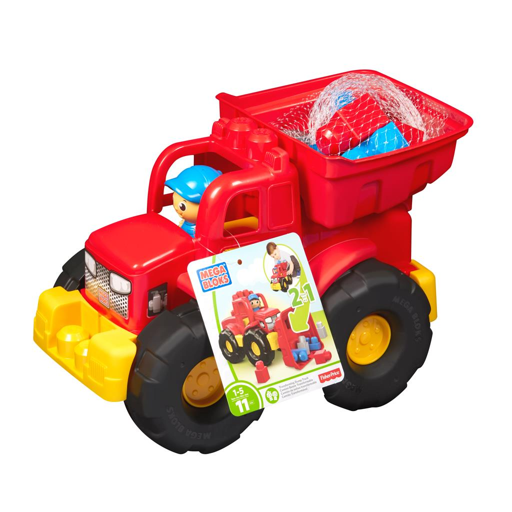 MB MEGA TRANSFORM DUMP TRUCK