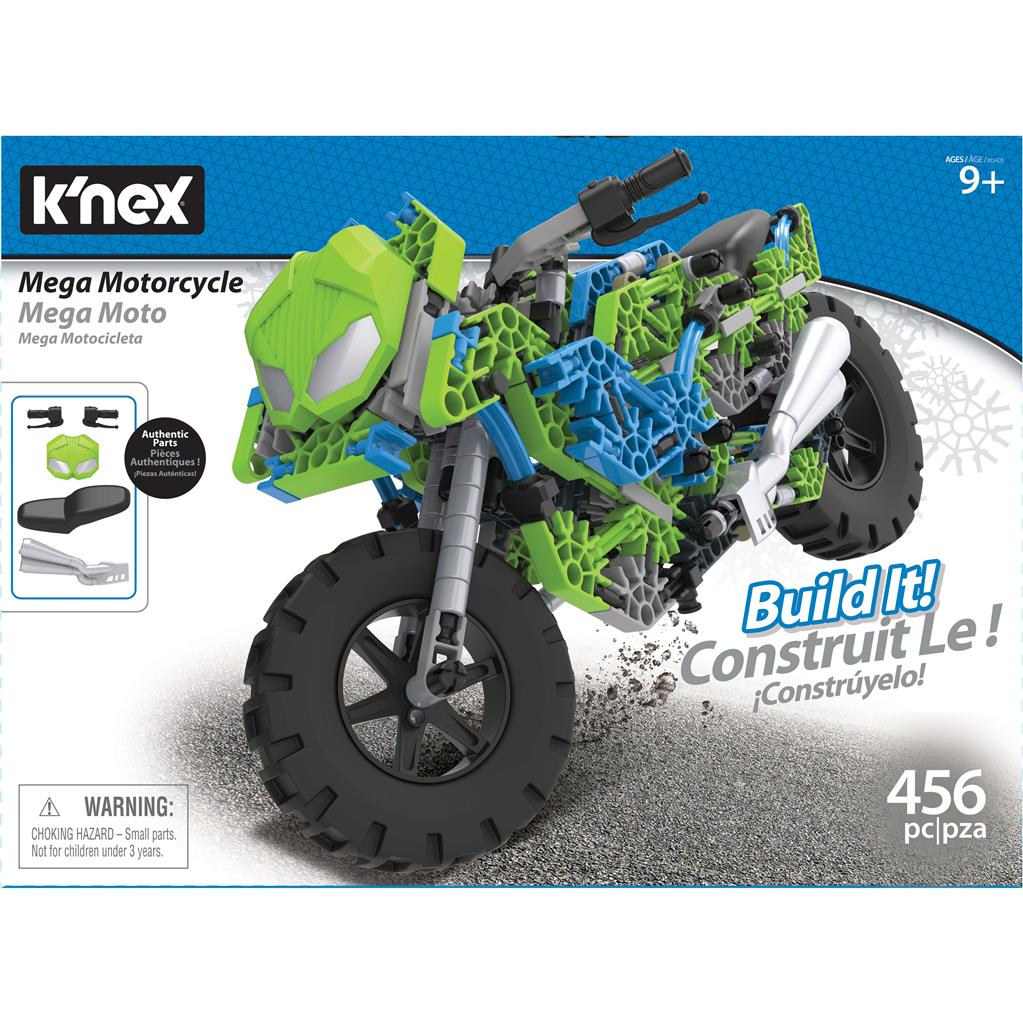 KNEX BUILDING SETS MEGA MOTORCYCLE