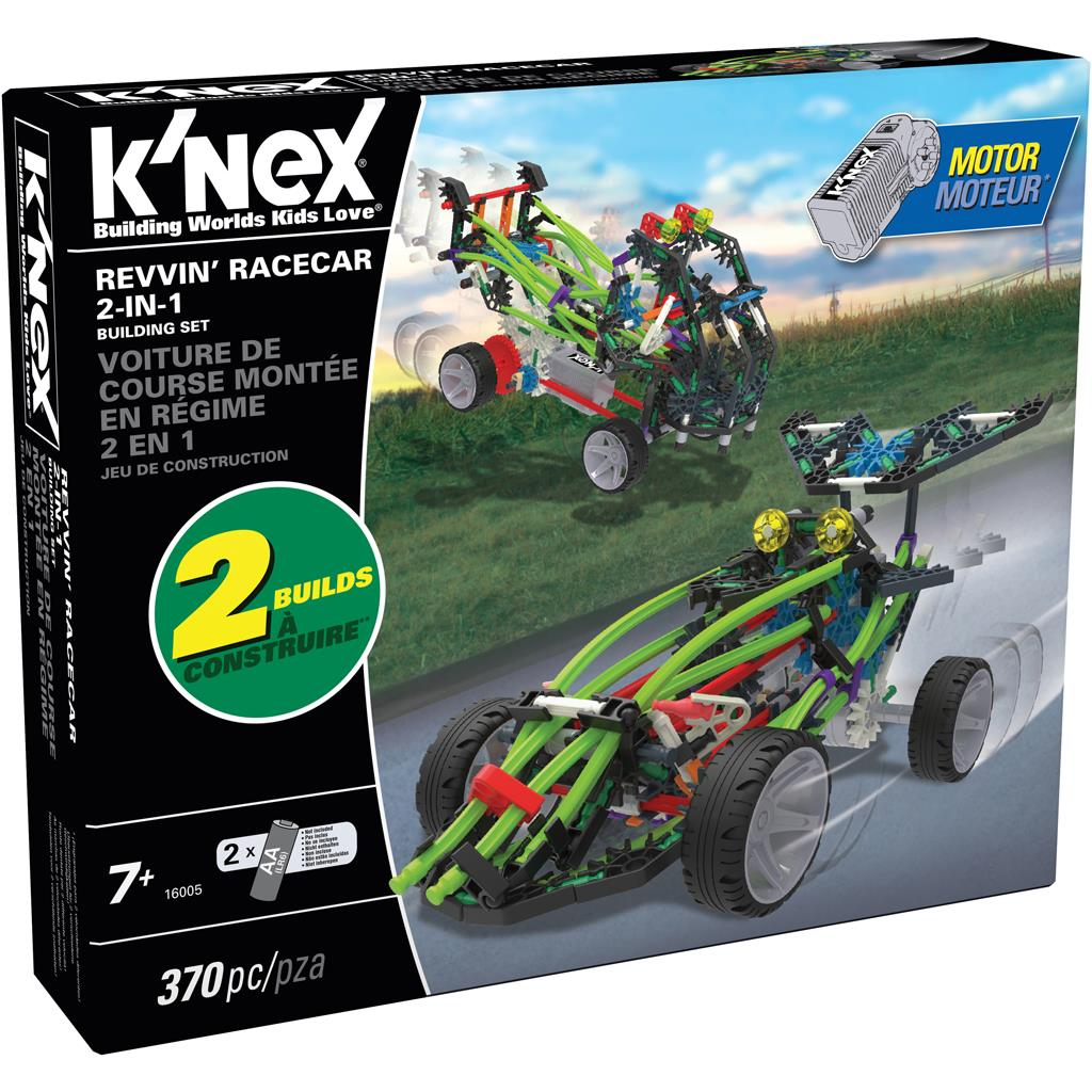 KNEX REVVIN RACECAR 2IN1