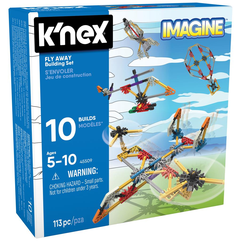 KNEX BUILDING SETS FLY AWAY
