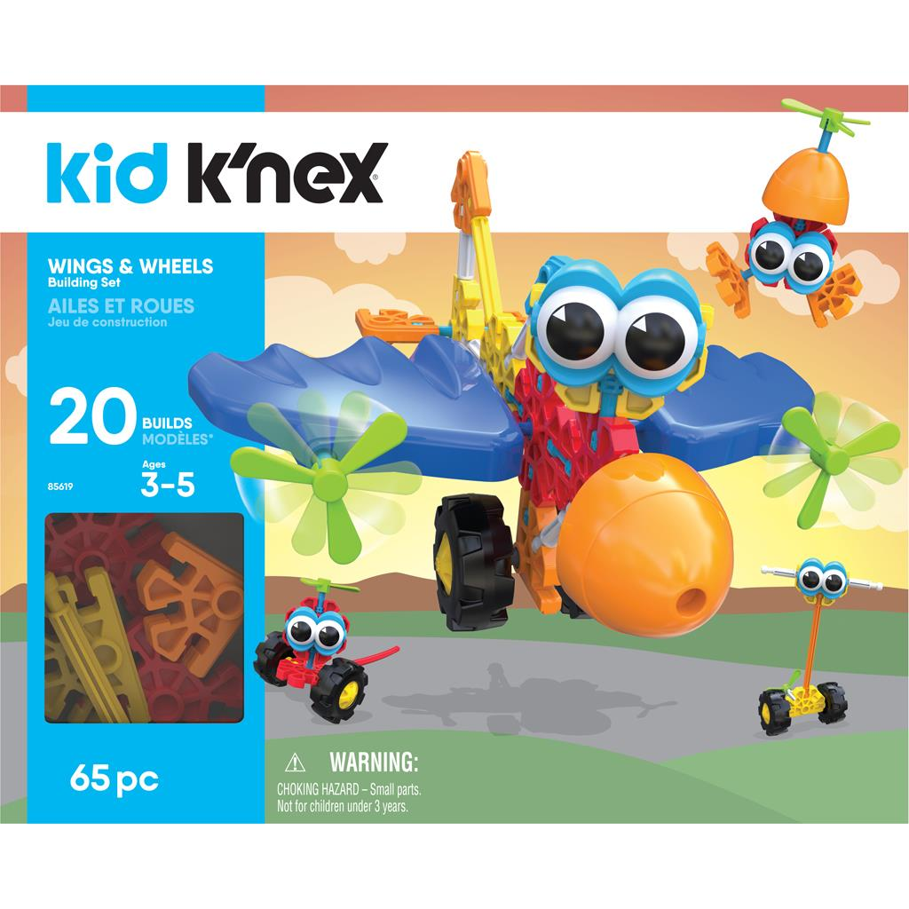 K'NEX KID WINGS & WHEELS