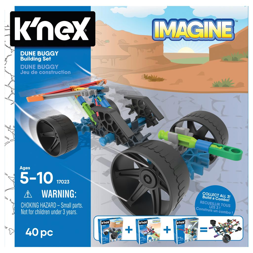 K'NEX BUILDING SETS DUNE BUGGY