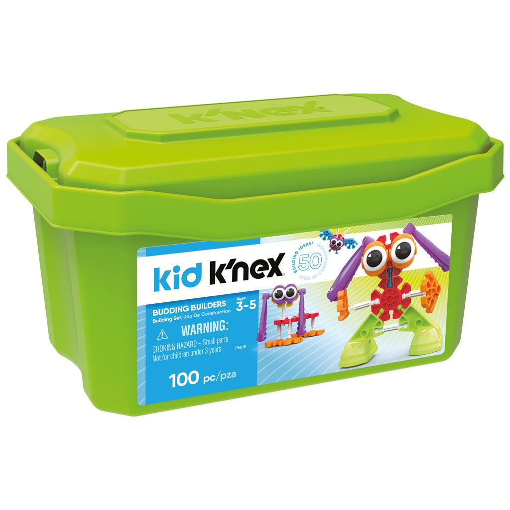 K'NEX KID -BUDDING BUILDERS TUB