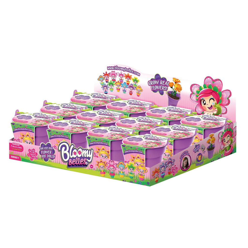 BLOOMY BELLES SURPRISE BLOOMY POT 12 STUKS