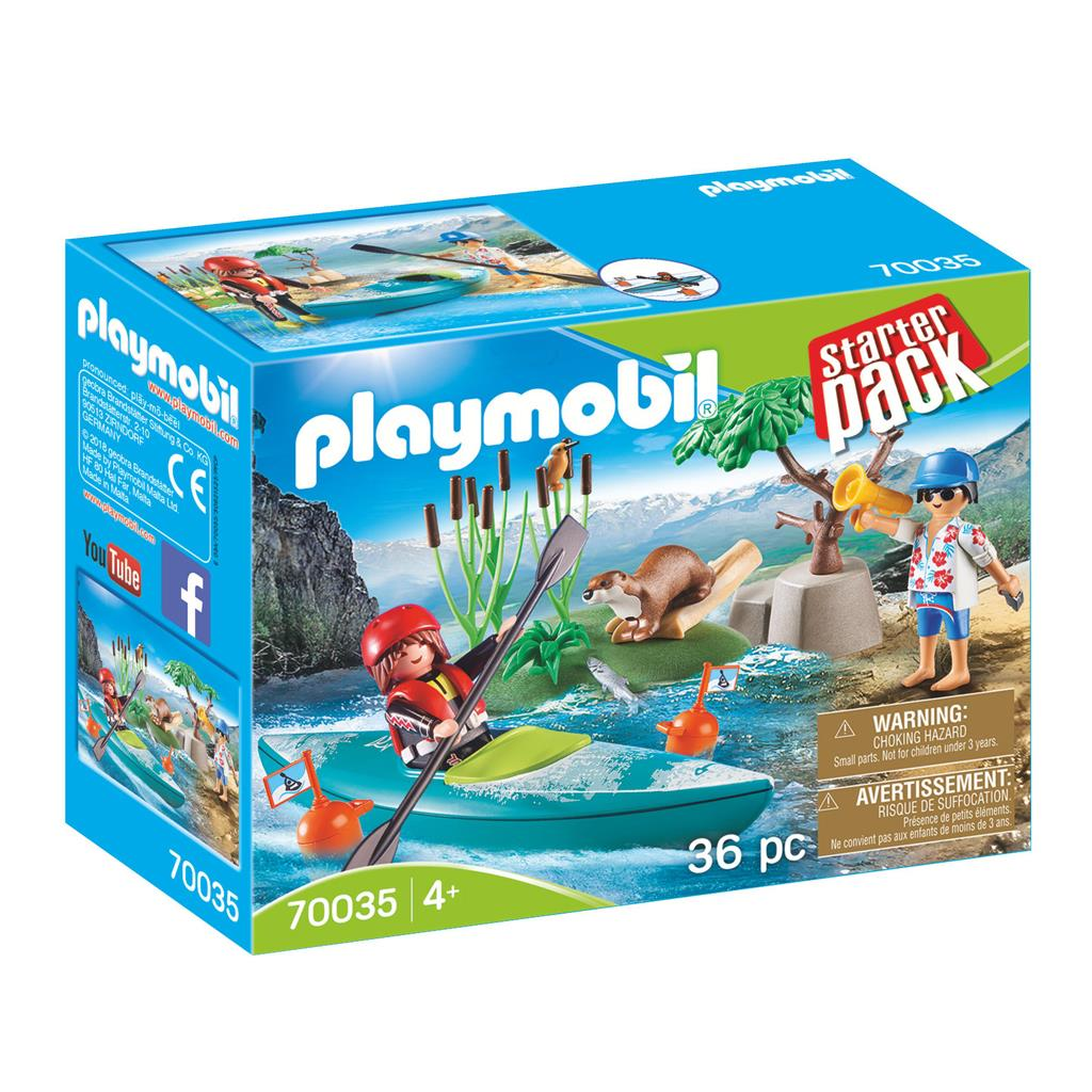 PLAYMOBIL STARTERSPACK 70035 KAYAK TRAINING