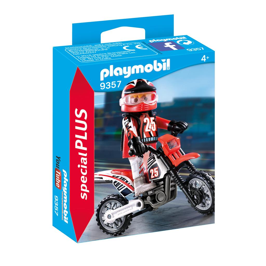 PLAYMOBIL 9357 MOTORRACER