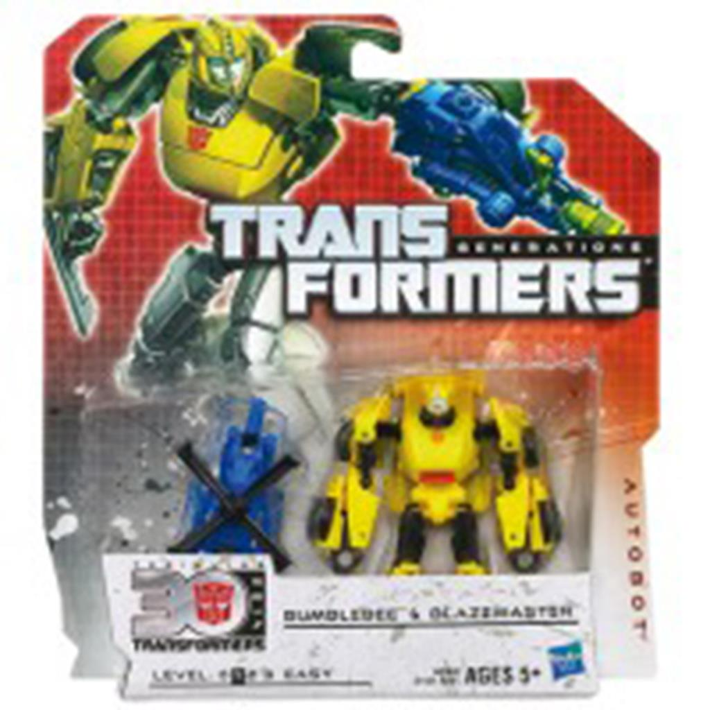ACTIEFIGUUR TRANSFORMERS BUMBLEBEE @ STINGER BATTLE