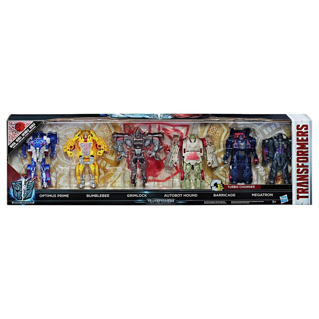 TRANSFORMERS TURBO CHARGER FIGUUR 6 PACK