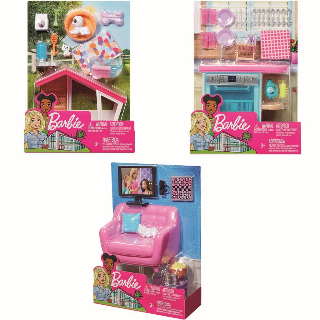 BARBIE MEUBELS INDOOR