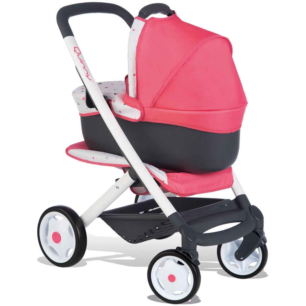 POPPENWAGEN SMOBY QUINNY 3-IN-1