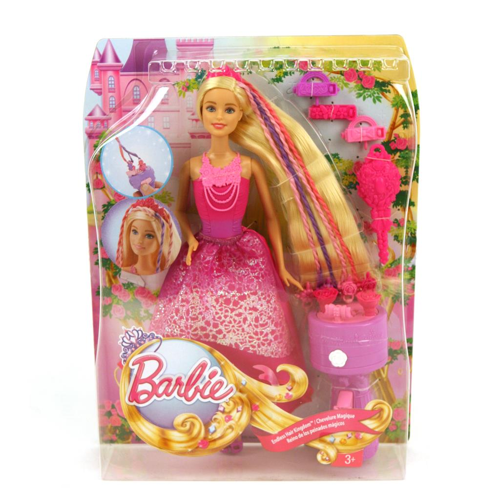 PRINSES BARBIE LANG HAAR
