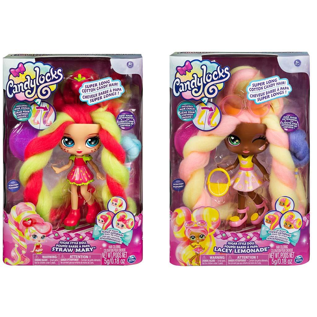 CANDYLOCKS DELUXE DOLL ASSORTI
