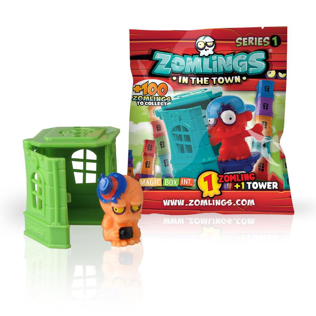 ZOMLINGS 1 TOWER POPPETJE