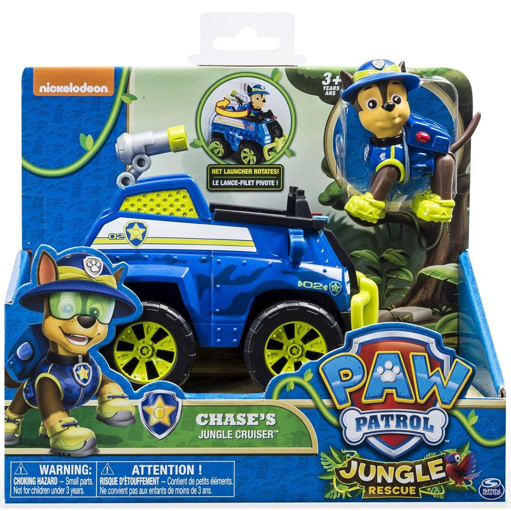 PAW PATROL CHASE OF MARCHALLJUNGLE CRUISER OF JUNGLE TRUCK