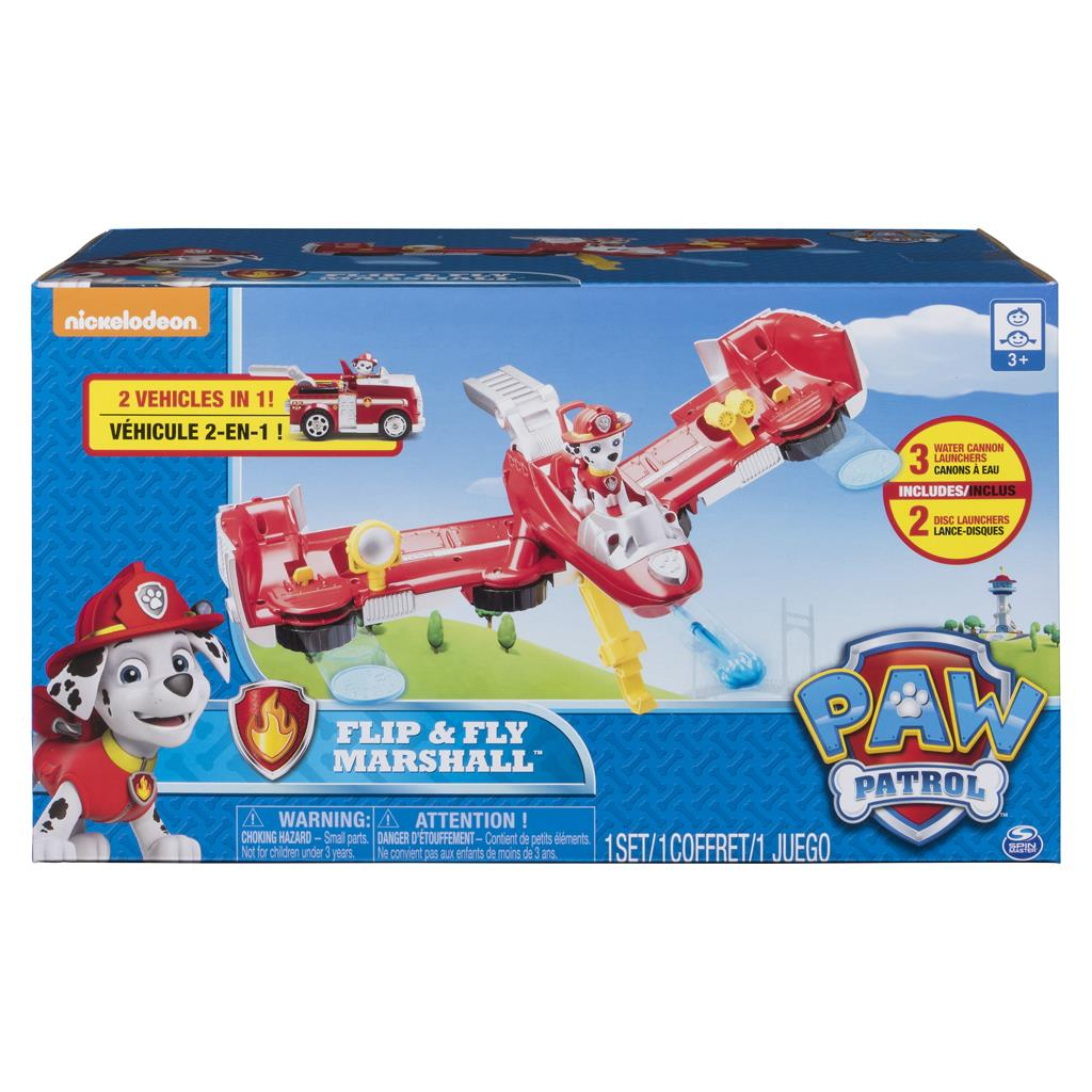 PAW PATROL FLIP 'N FLY VEHICLE MARSHALL