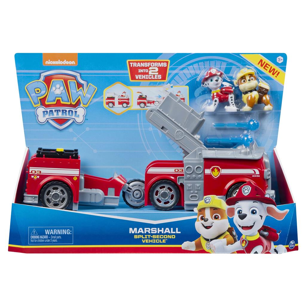 PAW PATROL SPLIT SECOND VEHICLE