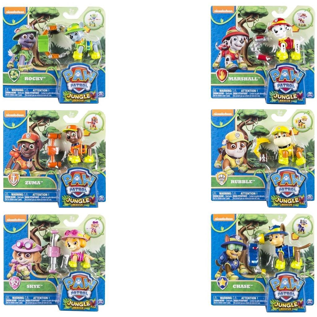 SPEELFIGUUR PAW PATROL JUNGLE HERO PUP SERIES